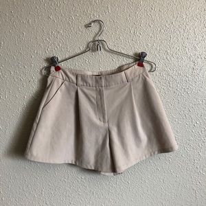 Lulus shorts tan loose